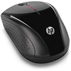 HP X3000 Wireless Mouse - Souris sans fil - Noir