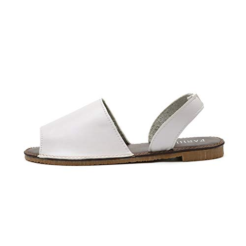 DIPOLA Damen Hausschuhe Fisch Mund Leinwand Schuhe Sommer Schuhe Flache Sandalen flachen Mund weiche Schuhe