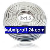 Preisvergleich Produktbild Mantelleitung NYM-J 3x1,5mm² -25m Ring- NYMJ
