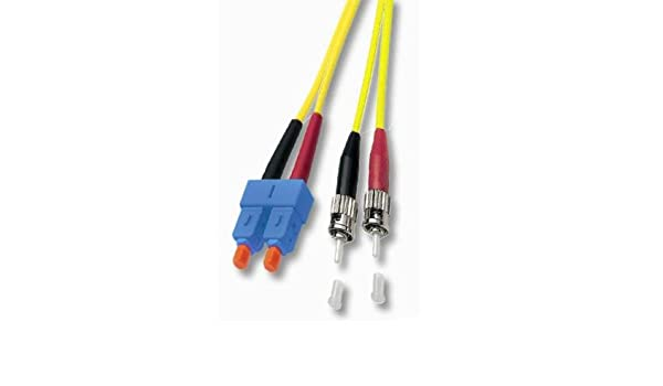 Neklan 2070889 Fibre Optic Cable Duplex Mono-Mode 9//125 ST//SC 7.50 m