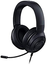 Razer Kraken X 7.1 Virtual Surround Sound Cuffie per il Gaming con Compatibilità Multipiattaforma, Jack Audio