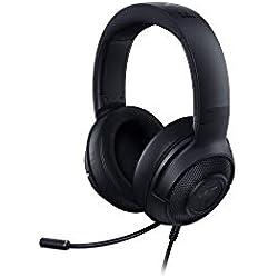 Razer Kraken X - 7.1 Casque d'Écoute Virtual Surround Sound Gaming avec Compatibilité Multiplateforme