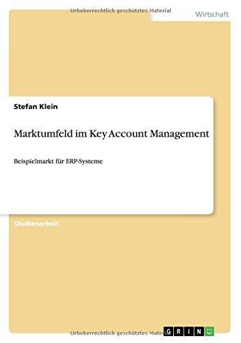 Marktumfeld im Key Account Management: Beispielmarkt für ERP-Systeme