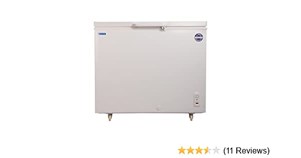 Blue Star CHF300 Double Door Deep Freezer (285 L, White)