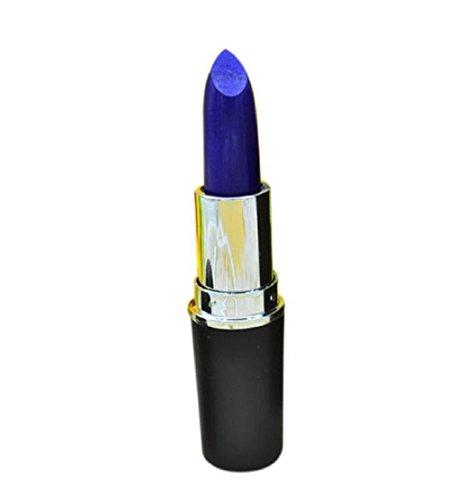 Tonsee Mode-Feuchtigkeitscreme lange dauerhafte wasserdichte Matte Lippenstift Make-up glänzende Lipgloss (blau)