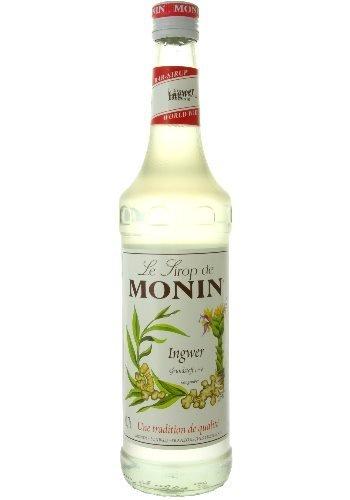 Monin - Ingwersirup - 0,7l (Sekt Mit Fruchtsaft)