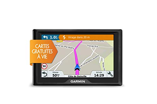 Garmin Drive 40LM Fijo 4.3' TFT Pantalla táctil 144.6g Negro navegador - Navegador GPS (Europa del Sur, 10,9 cm (4.3'), 480 x 272 Pixeles, TFT, Horizontal, SSD)