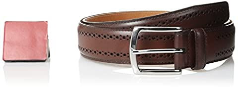 Allen Edmonds Men's Manistee Belt - red