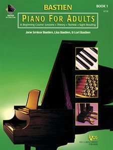 KP1B - Bastien Piano for Adults, 1 Book Only: A Beginning Course: Lessons, Theory, Technic, Sight Reading by Jane Smisor Bastien, Lisa Bastien, Lori Bastien (1999) Spiral-bound