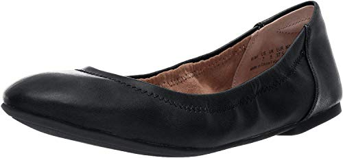 Amazon Essentials - Zapatos planos para mujer, Negro, 6.5 B US EU 37