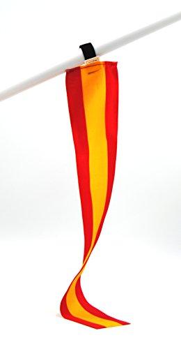 miniflag 5er-Set Spanien Fan-Artikel in National-Farben | Kleine Mini-Fahne | Fan und Party-Fähnchen u.a. für Fußball Handball Hockey Beach-Volleyball Tennis Ski WM EM Olympia Sport-Events |