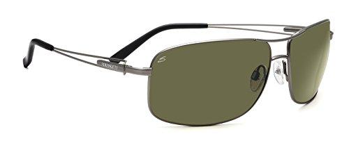 Serengeti eyewear lunettes de sassari Satin Gunmetal