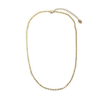 Collier Ras de cou perles petites Boules en Plaqué Or - Accumulation collier