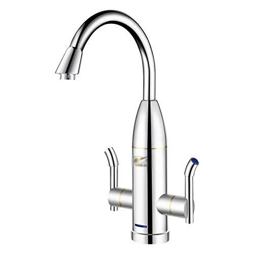 Waschraumarmaturen Instant Wasserhahn, Spüle heißen heißen Wasserhahn heißen elektrischen Wasserhahn Geschwindigkeit heißen Wasserhahn Küche heiß und kalt Dual-Use-Spülbecken Wasserhahn Bad heißen Was
