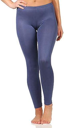 SCHÖLLER Damen Legging Micromodal mit Elasthan Leggings in Denim Blau Jeansblau Größen 38 bis 50