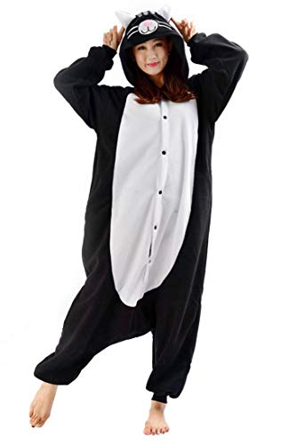 afanzug Kigurumi Pyjamas Cosplay Kostüm Overall Animal Sleepwear Cat XL ()