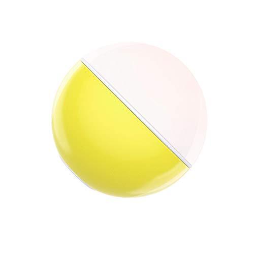 Afinibot Baby Candy Light Kinder Nachtlichter für Babys, Nachttischlampe, Safe Abs, bruchsicher, Augenpflege LED, einstellbare Helligkeit (Zitronengelb)