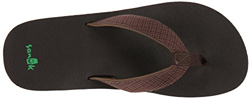 Sanuk Off The Grid Party Wave Sandals brown