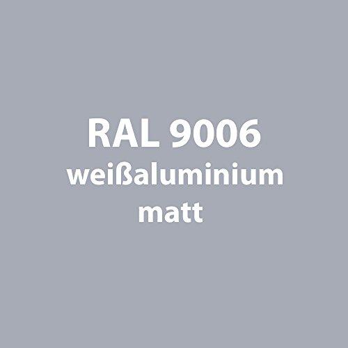 Tupflack 50 ml * viele verschiedene Farben * (RAL 9006 weiß-aluminium matt [wie silber])