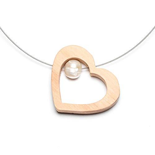 Halskette Pia - Herze die Welt!