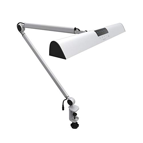 LYZHM Tischlampe Led Architect Schreibtischlampe Clamp, Touch Tischlampe zum Lesen Arbeitsbeleuchtung Modi, Dimmbar -