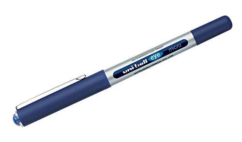 Uni-Ball 717383 - penne inchiostro liquido 0.5MM, blu