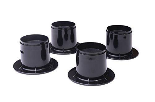 Elevadores Resistentes para Silla Cama Sofá Muebles Mesa 65 mm (4 Pack)