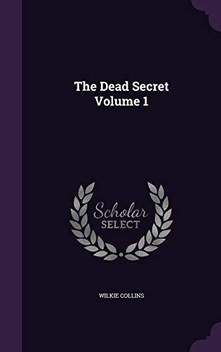 The Dead Secret Volume 1