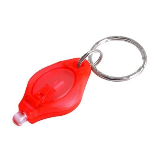 5X Farben Mini Weiß LED Taschenlampe +Schlüsselanhänger