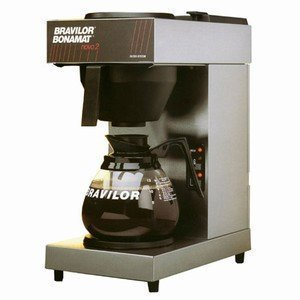 Bravilor Coffee Machine Makes 144 Cups per Hour 12 Cups per Jug SUPPLIED WITH 2 by Bravilor