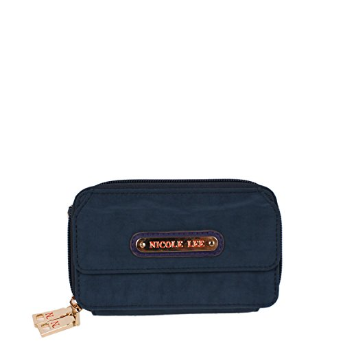 nicole-lee-lola-crinkled-nylon-cross-body-wallet-navy