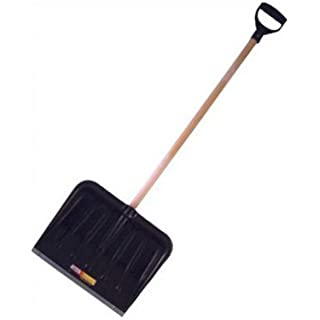 Large 1.17m Heavy Duty Snow Shovel Mucking Out Spade/Scoop - Strong Metal Blade