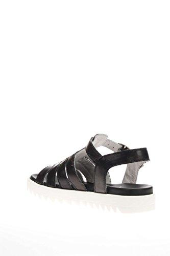 Nero Giardini Junior enfant-Sandale P631410F 100 santal fonds caoutchouc Noir - noir