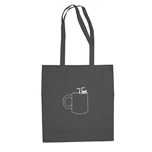 Planet Nerd Gimme some more - Stofftasche/Beutel, Farbe: grau