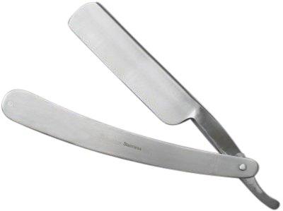 Rasiermesser mit Edelstahl-Heftschalen