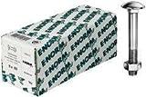 Flachrundschrauben DIN 603 M 8x90 mit Muttern 50 Stück