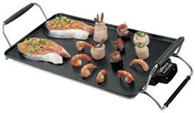 Ufesa GR7455 Maxi Chef, Black, 230 V, 50 Hz, 2770 g, Aluminium, 260 x 560 x 130 mm - Parrilla