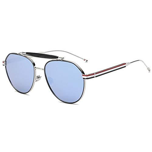 Thirteen Sonnenbrille Weiblich, Großes Gestell Gesicht Kleines Gesicht Retro Brille, Verwendet Für Anti-UV-Sonnenschutz Dekoration Reisen. (Color : F)