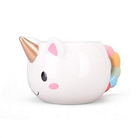 kyonne Taza Unicornio, Unicorn Mug, Taza de Ceramica, Regalo de Navidad