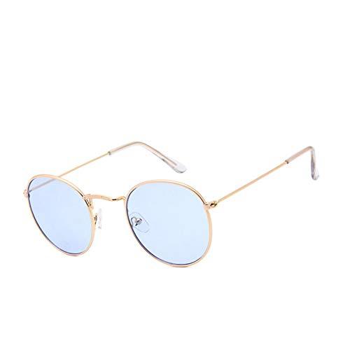 WZYMNTYJ Reflektierende Sonnenbrille Mode Dame Sonnenbrille Mercury Objektiv Frauen Weibliche Shades UV400