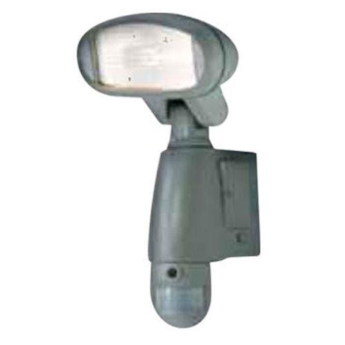 Camtronics PIR BUHO 10 120 W Halogen-Außenleuchte mit Bewegungsmelder und DVR auf SD-Karte (2 GB) mit eingebauter Kamera Dvr-karte