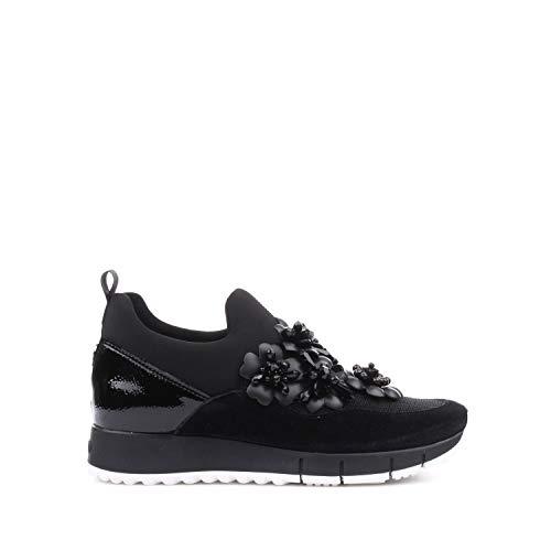 Liu Jo Jeans Liu Jo B68027 Gigi 03 Elastic Sneaker Donna Nera Black a04fca47350