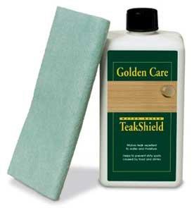 """Teak-Shield - Schutz für Teakholz von \""""Golden Care\"""" Pflegemittel - 62564"""