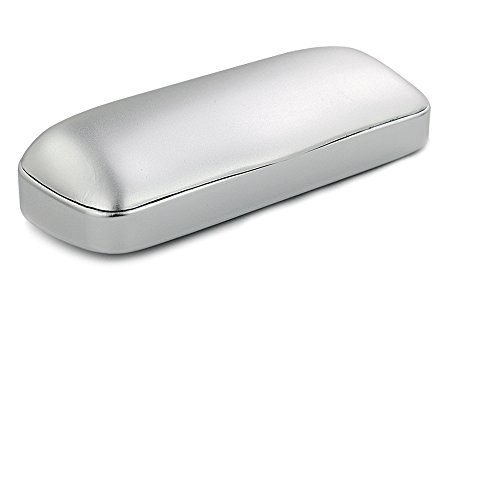 EZESO Hartes Brillenetui Matte Aluminium Brillen Schutzetui Box