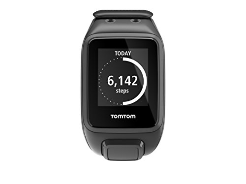 TomTom Runner 2 GPS Watch - Large Strap, Black/Anthracite