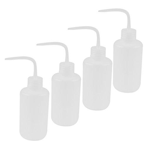plastica laboratorio piegato estremita' liquido conservazione spruzzare bottiglia 250mL 4 Pz