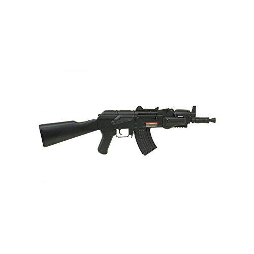 Cyma Airsoft AK47 Spetsnaz ABS semiautomático/automático Aeg Black CM521 (Potencia 0,5 Julios)