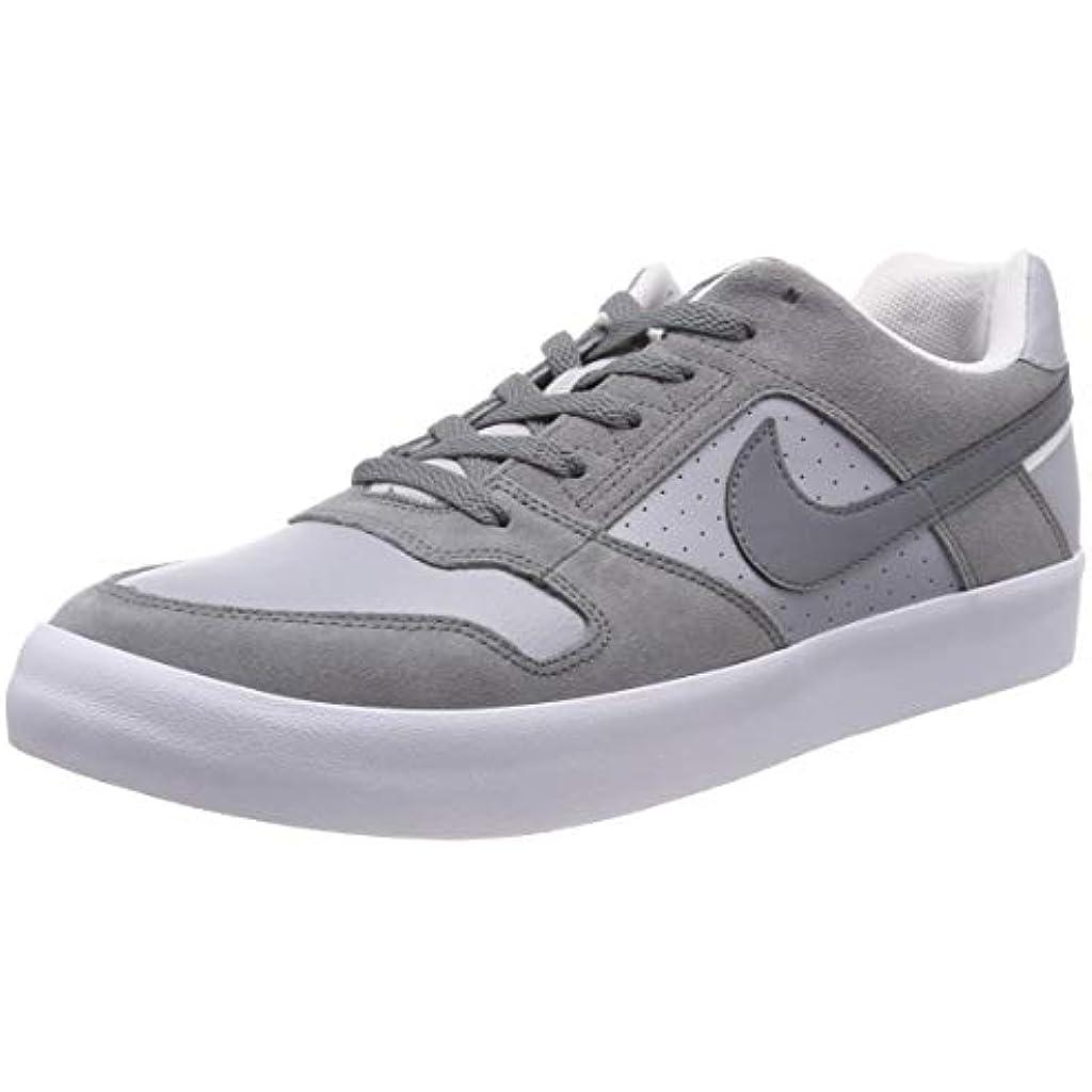 separation shoes 87b29 f4047 Nike SB Delta Force Vulc, Zapatillas de Skateboard para Hombre, Gris Cool  Wolf GreyWhite 001, 47.5 EU