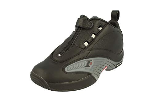Reebok Allen Iverson I3 Answer IV Herren Hi Top Basketball Sneakers (UK 8 US 9 EU 42, Black Grey red V44961)