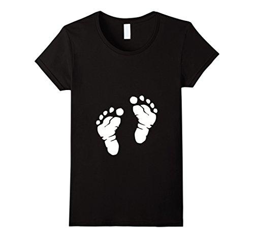 womens-baby-feet-t-shirt-damen-grosse-xl-schwarz